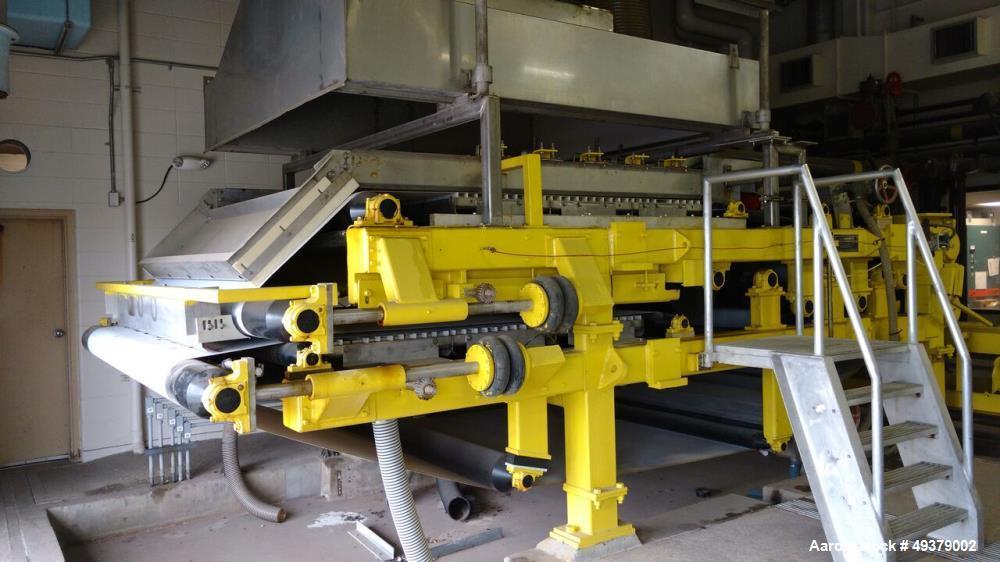 Used- Andritz 2.2 Meter Belt Press Dewatering Machine