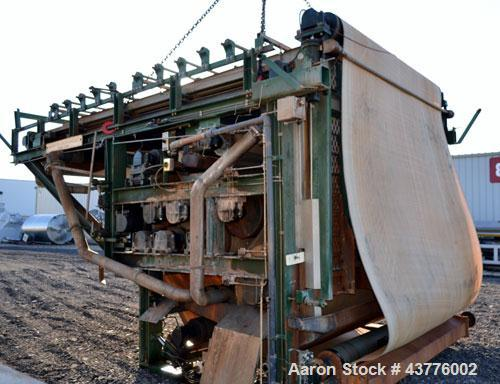 Used- Ashbrook-Simon-Hartley Winklepress Belt Filter Press, Type AWP