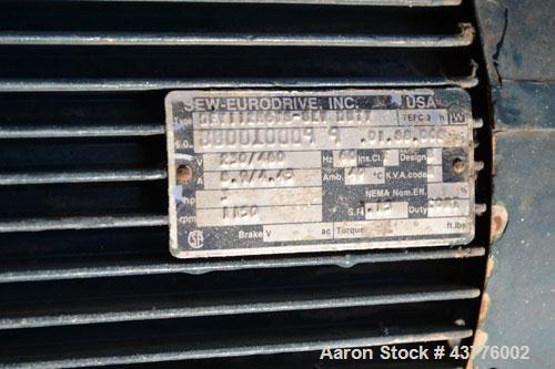 Used- Ashbrook-Simon-Hartley Winklepress Belt Filter Press, Type AWP