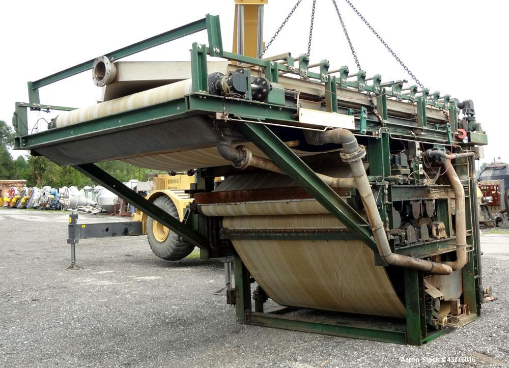 Used- Ashbrook-Simon-Hartley Winklepress Belt Filter Press, Type WP