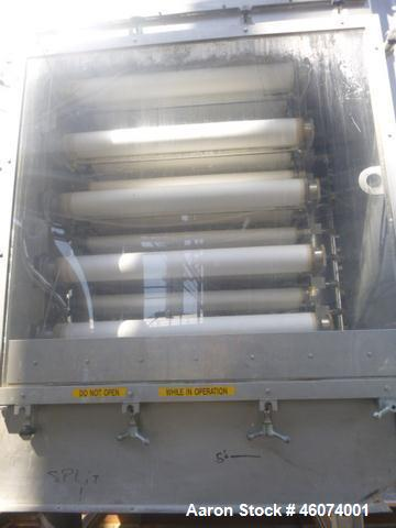 Used- Hoesch Filter DS Series SS Horizontal Plate Type Automatic Pressure Filter