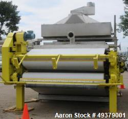 Used- Andritz 2.2 Meter Belt Press Dewatering Machine