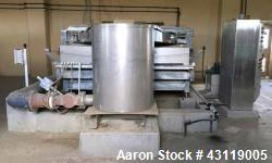 Used- Ashbrook-Simon-Hartley Gravity Belt Thickener, Type Aauabelt