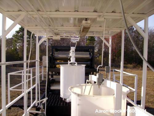 Used- Parkson Mobile Sludge Dewatering Belt Press.