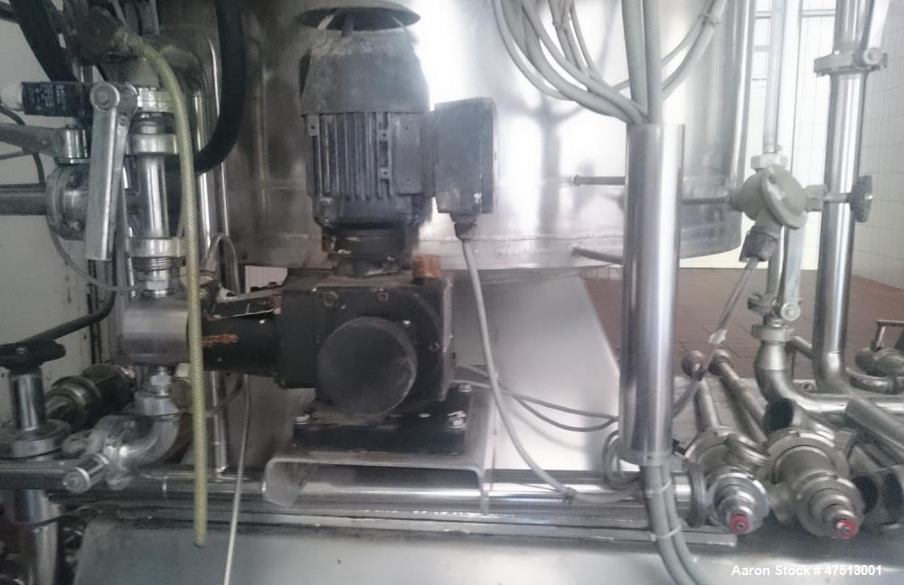 Used- Schenk Filtration Unit. ZHF/A-12-20 STR consisting of: (1) Schenk STR A12 Filter. Stainless steel. Working capacity 17...
