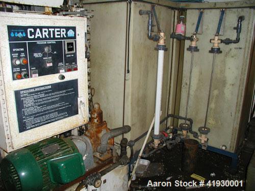 Used-Carter Belt Press. 1/2 meter, 1.5% sludge at 50 gallons per minute.