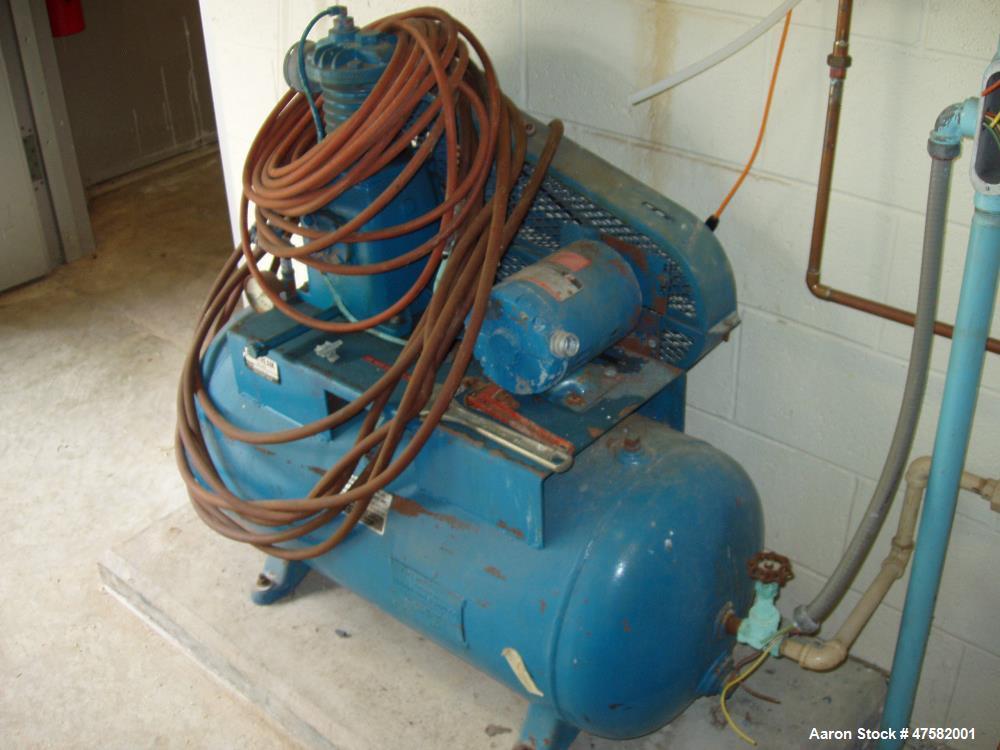 Used- Komline-Sanderson Kompress Belt Filter Press, Model GNR 1/1. 1 meter capacity. With vacuum pump and control panel. Yr....