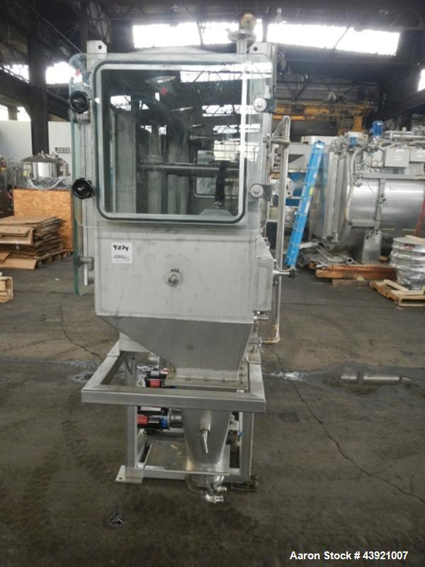 Used- Larox Pannevis BV Vacuum Belt Filter, Type RT/GT 0100