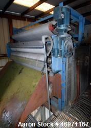 "Used- Von Roll RPE Belt Filter Press, Model RPE2000L. Approximate 78"" wide belt driven by a 5hp, 3/60/230/460 volt, 1680 rpm..."