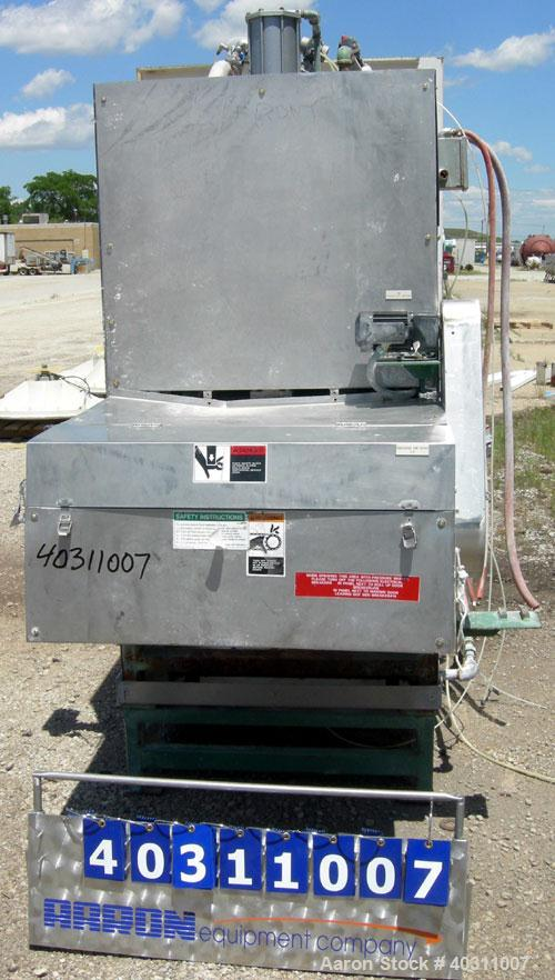 Used- Oberlin Automatic Pressure Filter, model OPF-4, stainless steel and carbon steel construction. 4 square feet filter ar...