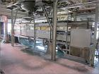 Used-Pannevis Vacuum Belt Filter, RT type 0575, 6 square meters. Stainless steel construction on product contact parts. 24'4...