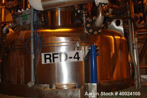 "Used: Rosenmund Filter Dryer, 2 Square Meter, Hastelloy SB575. 62 1/2"" diameter x 36"" straight side, dished top, flat bolt o..."