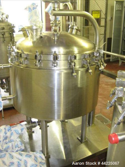 Used- American Fab Nutsche Type Filter, Hastelloy Construction. Internal rated 60 psi at 302 degrees F, jacket rated 75 psi ...