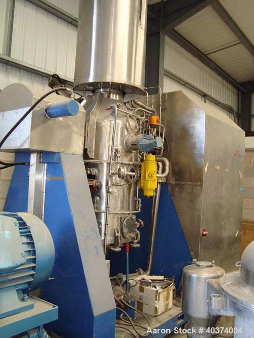 Used- Stainless Steel APV Nutsche Filter/Dryer/Crystallizer