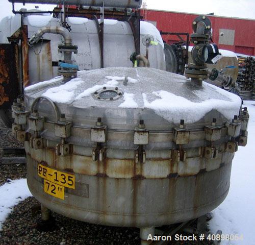 Used- Stainless Steel Baeurle & Morris Nutsche Filter