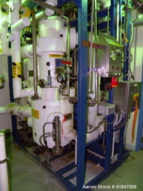 Used- 3V Cogeim Filter Dryer, 4 Square Meter, Model FPP/SD 400 FM, Hastelloy C-276. 7000 Liter capacity. Approximately 90'' ...