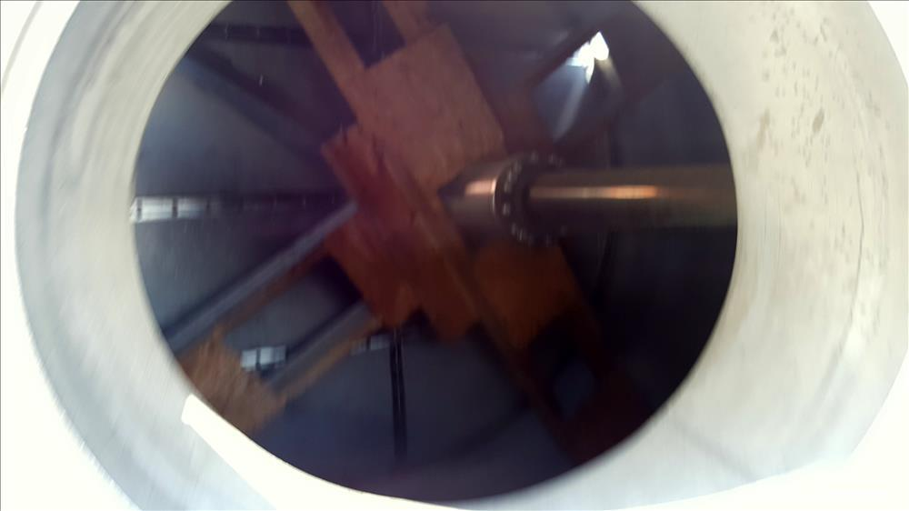 Used- Stainless Steel Cogeim Agitated Nutsche Filter Dryer, Model FPP 400 FF/D