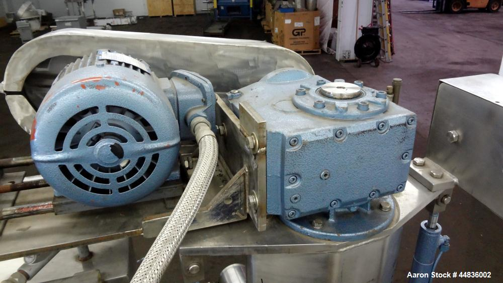 Used- Guedu Pilot Agitated Filter Dryer