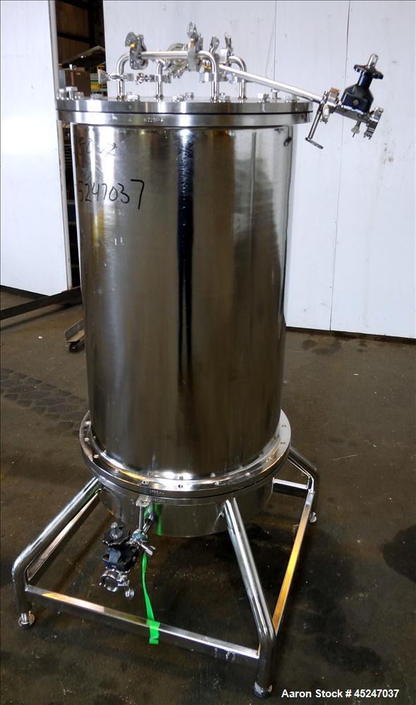 Used- Stainless Steel Lee Industries Pressure Gravity Filter, Model GF06