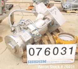 Used- Stainless Steel Cogeim Nutsche Filter/Dryer Discharge Hatch Valve
