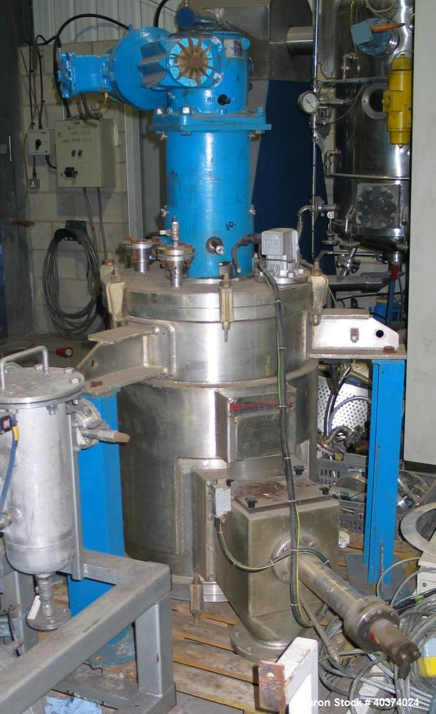 Used- Stainless Steel Newell Dunford Filter Dryer