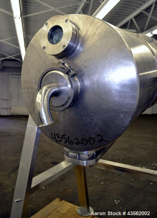 Used- 75 Gallon Northland Stainless Rotating Pressure Nutsche Style Filter, Stai