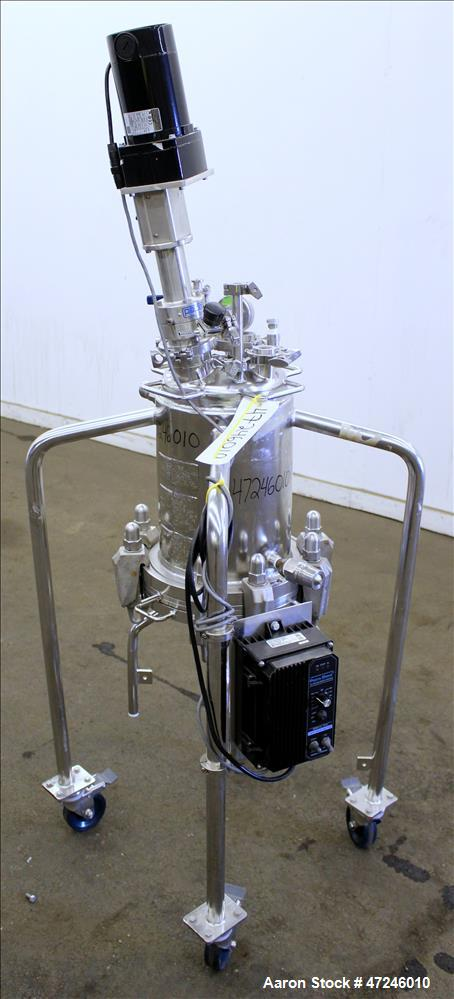 Used- Pope Scientific Nutsche Filter, 18.9 liter, 316L Stainless Steel