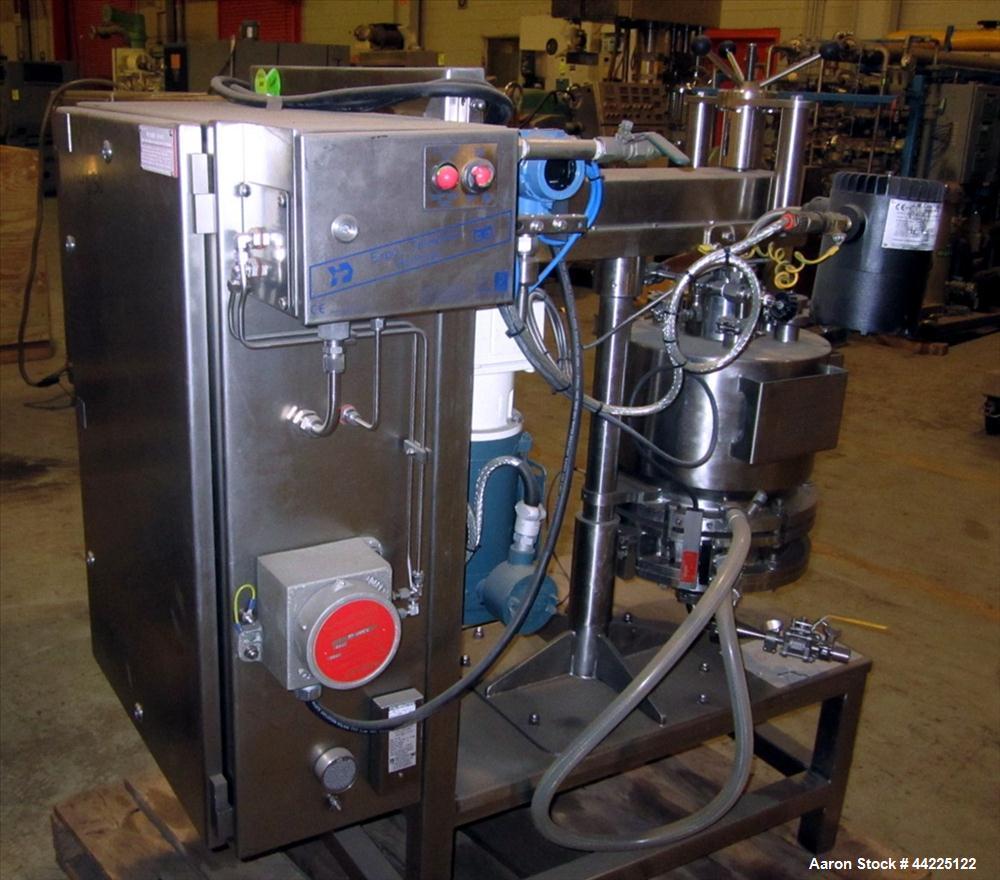 Used- Powder Systems Ltd  Nutsche Filter