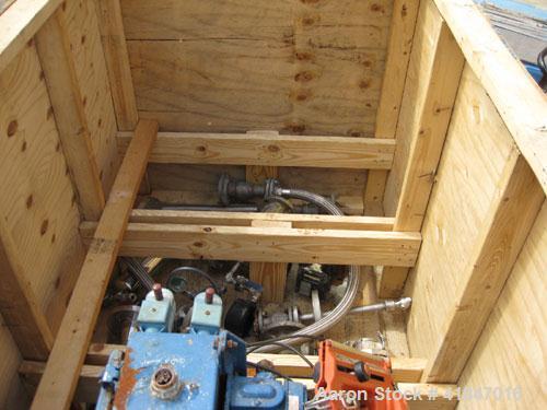 Used- Stainless Steel Rosenmund Filter Dryer Model 4MS