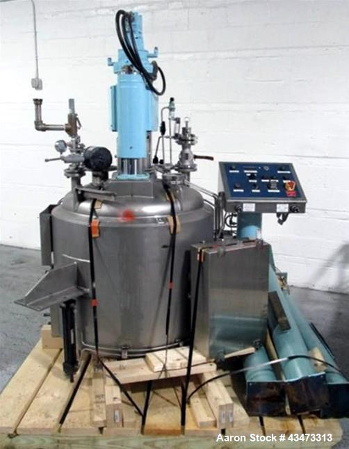 Used- Rosenmund Filter Dryer, 0.6 Square Meter, 316L Stainless Steel. Internal rated 50 psi & Full Vacuum at 350 degrees F, ...