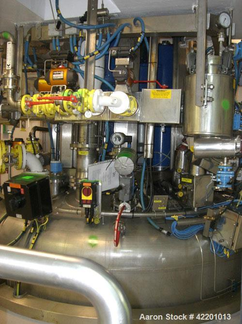 Used- Rosenmund Nutsche Filter Dryer, Type RND5-10-36/99, Hastelloy C22. Approximately 5 square meters of filtration area. I...