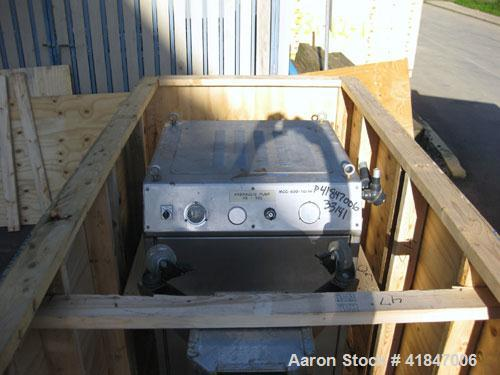 Used- Rosenmund Filter Dryer, 4 Square Meter, Model RSD4-1116-00.101.0486, Type GRF 4000L, 316L Stainless Steel. Approximate...