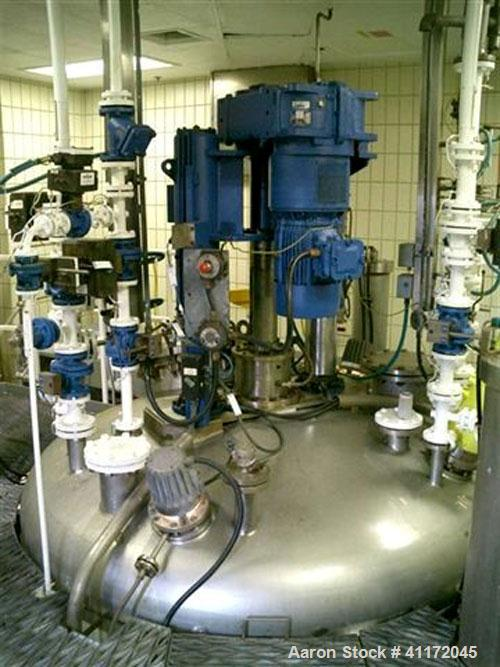 Used- Rosenmund Nutsche Filter Dryer, Hastelloy C276. Approximately 5 square meters of filtration area. Internal rated 5 bar...