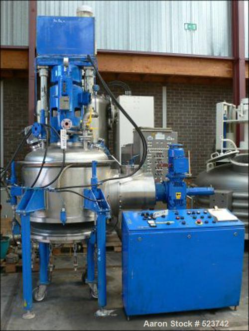 USED: Nutsche filter/dryer. (1) SEN Seitz Enzinger Noll, type TerraERF 100/450 CW. Stainless steel 316Ti (1.4571). Filter su...