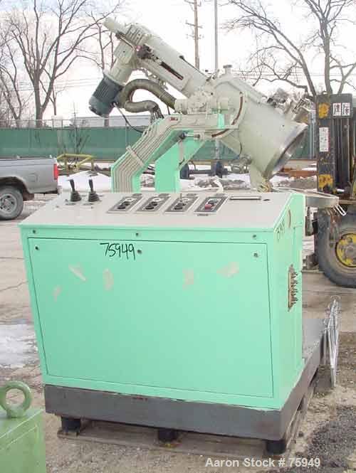Used- Seitz-Wega Lab Size Nutsche Filter Dryer, Type EFT 30-40