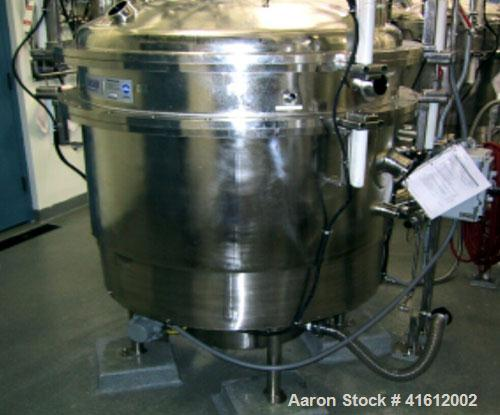 Used-Sweco PharmaSep (Dryer/Filter), Model PH46 Vibratory Sieve. 300 liter capacity, 80.8 gallons / 10.84 cubic feet, 316L s...