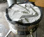 Used- Lee Industries Nutsche Type Filter, approximate .06 square meter, model GF06, stainless steel. Approximately 22