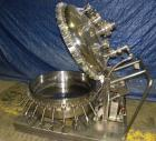 Used- Northland Stainless Pressure Nutsche Filter, 0.6 square meter, Hastelloy C276. 36