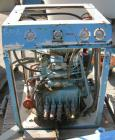Used- Rosenmund Filter Dryer, 4 Square Meter, Model Side Discharge, 316L Stainless Steel Product Contact Areas. Vessel 95