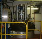 Used-Rosenmund Nutsche Filter Dryer, Model RND2, 2.4 sq m (25.8 sq feet), 316L stainless steel, center bottom discharge, 287...