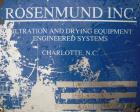 Used- Rosenmund 1.6 Square Meter Agitated Nutsche Filter Dryer, Model RSD 1.6-662-92. 316L stainless steel construction, 960...