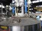 Used- 2.6 sq meter ZWAG agitated nutsche filter, stainless steel construction, 1800 liter capacity vessel, rated 2 bar at 10...