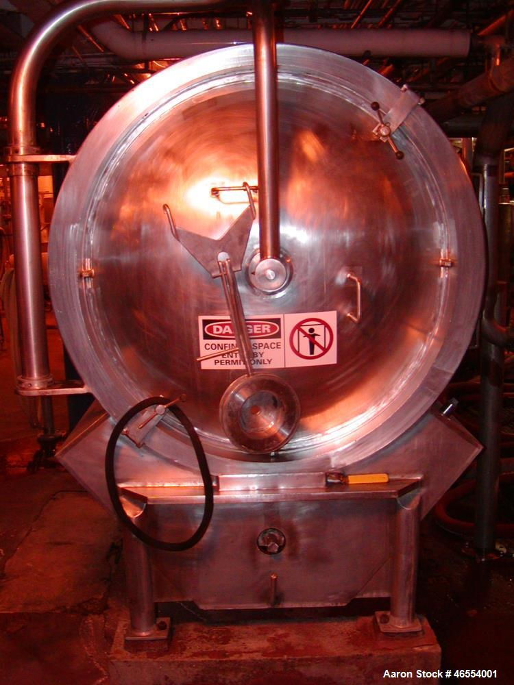 Used- United Filter, Autojet (US Filter) Model 500, 500 square foot. Stainless steel. Internal rated 83 psi at 100 deg F. Yr...