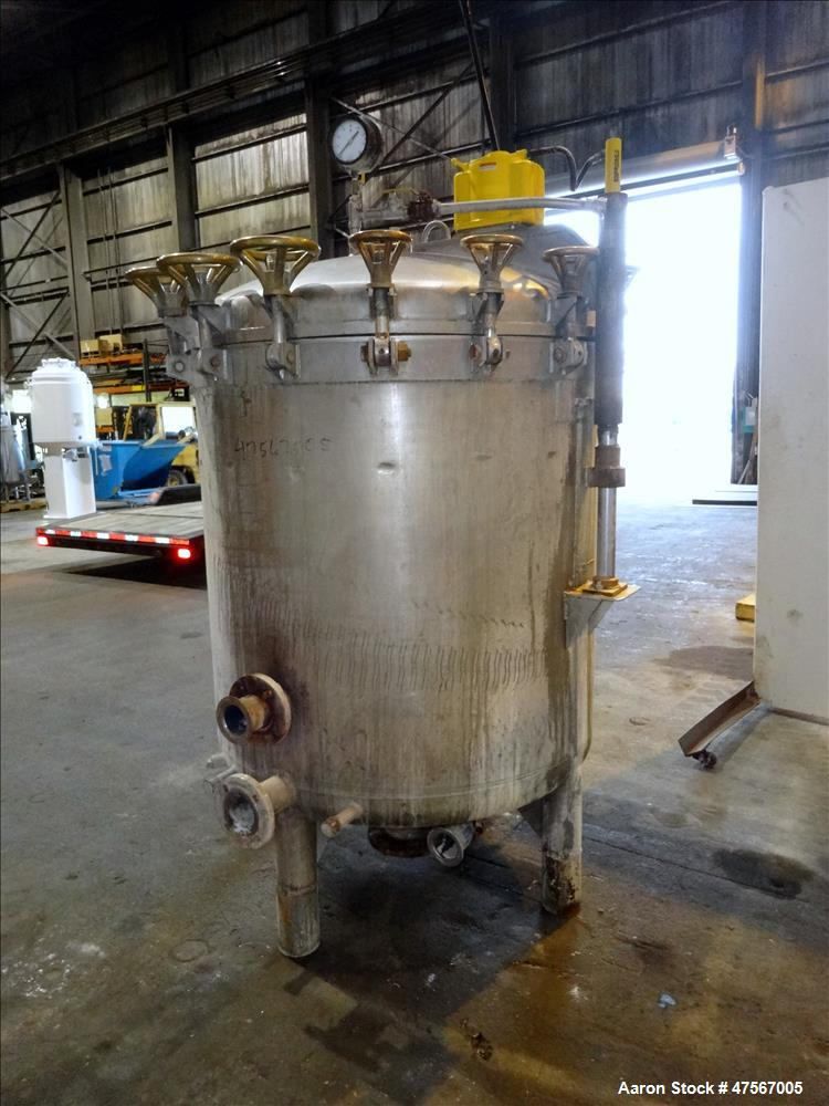 Used- Enzinger Filter Presses, 316 Stainless Steel, Vertical.