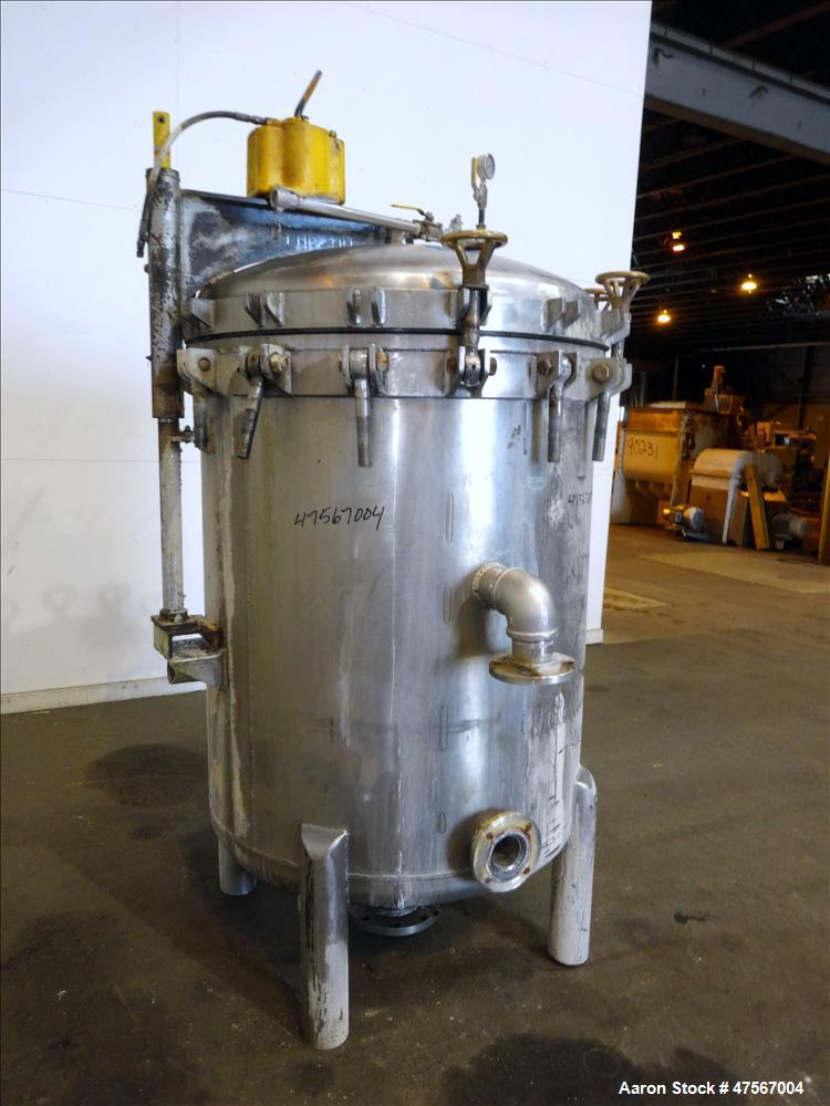 Used- Filter Presses, 316 Stainless Steel, Vertical.
