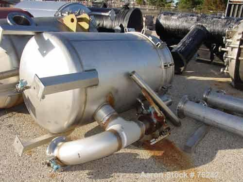 Used- Filtration Engineering Corp vertical filter, model 12760CD-147. Pressure Rating: Fv/50 Psi @ 300 Deg F Nat Bd # 12. 40...