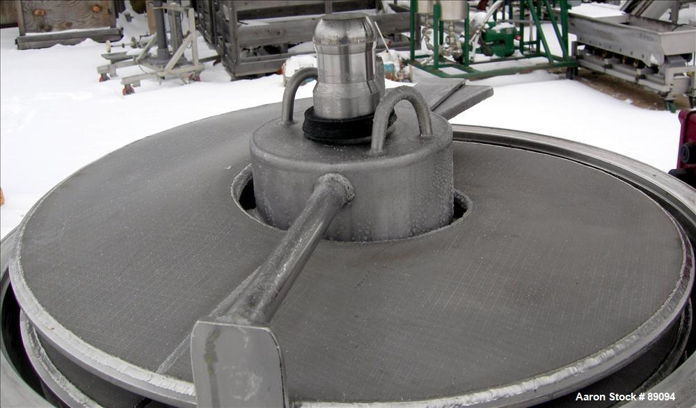 Used- Stainless Steel Filtroba AG Spiral Funda Filter