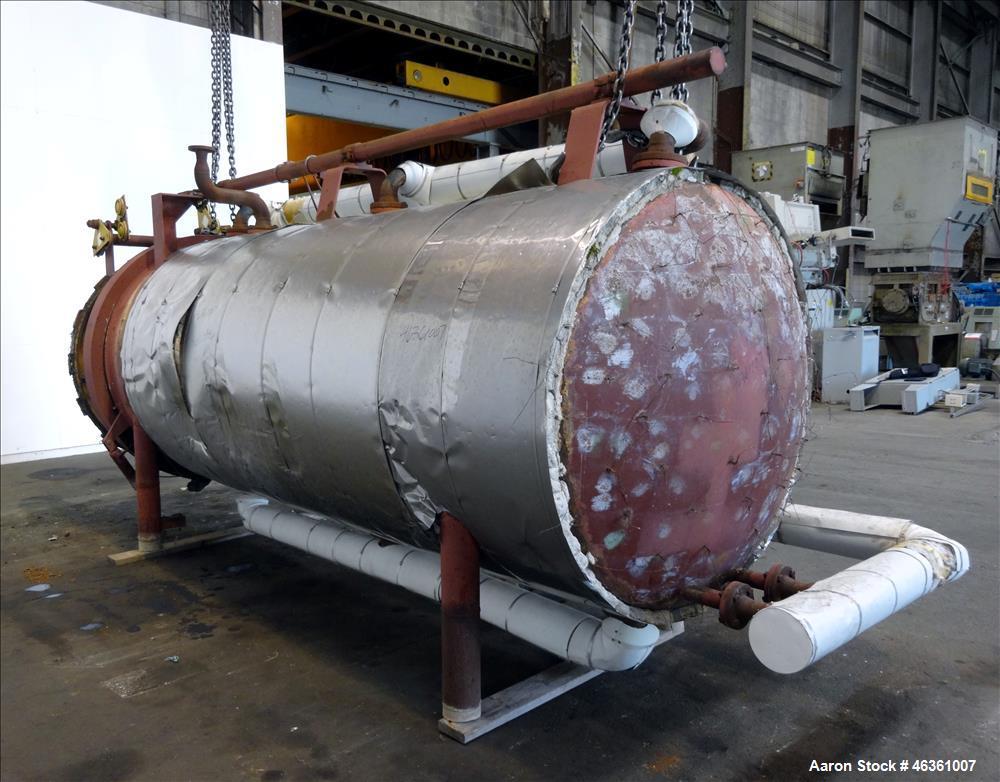 Used- Industrial Filter Horizontal Pressure Leaf Filter