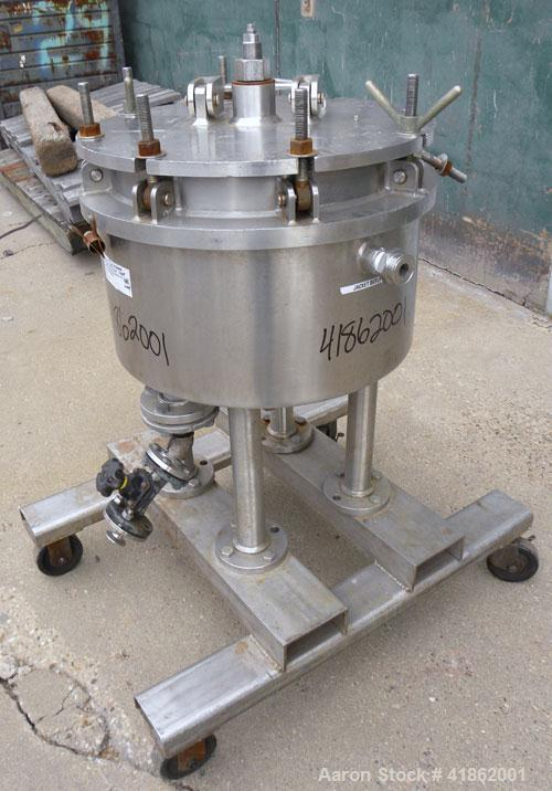 Used- Ketema Niagara Batch-Miser Horizontal Plate Filter, Model 18-4D-SJ