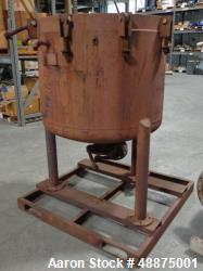 "Used- Niagara Filter Tank ""Only"".  No Plates.  36  Diameter x 30 High. With top cover. Stainless steel wetted parts. Interna..."